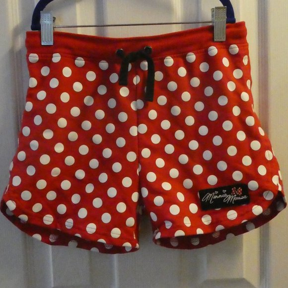 Girls Minnie Mouse Disney Shorts Size L